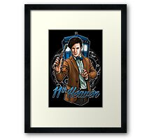 11th Doctor - Eleventh Heaven Framed Print