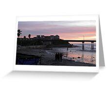 Pier at Ocean Beach - San Diego - California © 2010 Greeting Card