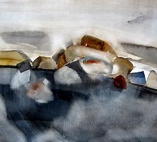 Landscape in grey by May Hege  Rygel