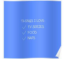 Things I love 2 Poster
