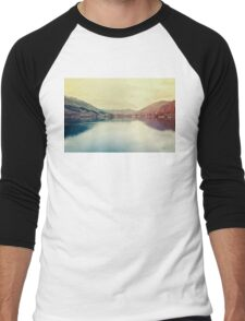 A beautiful lake Men's Baseball ¾ T-Shirt