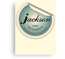 Jackson Music Instruments Canvas Print