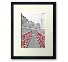 Red. Framed Print