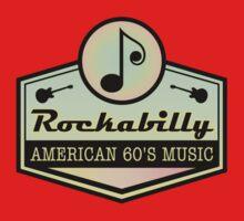 American Rockabilly 60' Music One Piece - Short Sleeve