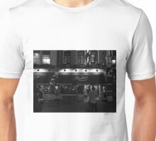 Rules - Oldest Restaurant in London - B&W Unisex T-Shirt
