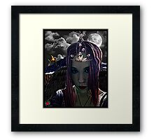 Freefall Icarus Framed Print