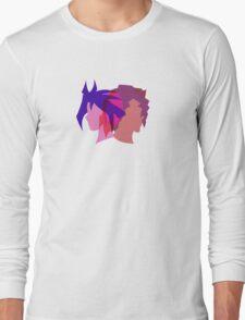 Arc V Ship Silhouette- Yuri/Dennis Long Sleeve T-Shirt