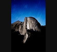 Stars trails over Half Dome Unisex T-Shirt