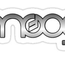 Moog  Synth Silver Sticker