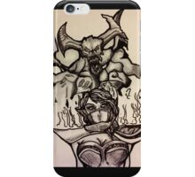 Dota 2 Character Drawing iPhone Case/Skin