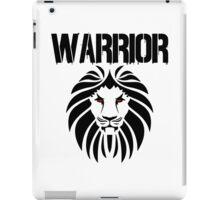 WARRIOR LION iPad Case/Skin