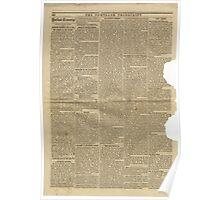(PAGE 6) PORTLAND TRANSCRIPT, AUG.27, 1853 Poster