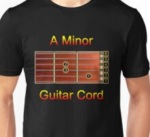Guitar Cord - A Minor Unisex T-Shirt