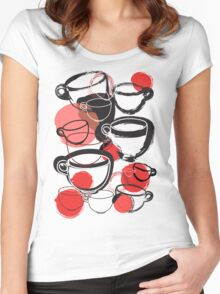 Cups Women's Fitted Scoop T-Shirt