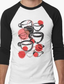 Cups Men's Baseball ¾ T-Shirt