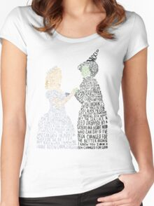 For Good Women's Fitted Scoop T-Shirt