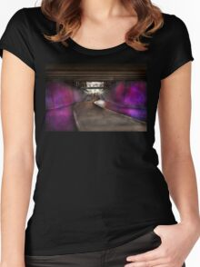 City - Pittsburg, PA - Welcome to the future Women's Fitted Scoop T-Shirt