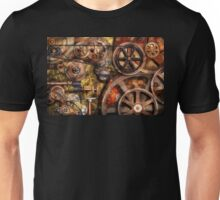Steampunk - Gears - Inner Workings Unisex T-Shirt