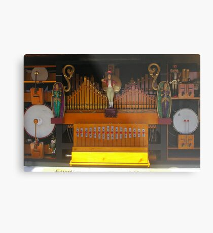 steam organ Metal Print