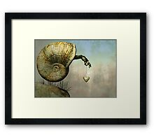..with this lonely heart.. Framed Print