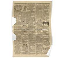 (PAGE 7) PORTLAND TRANSCRIPT, AUG.27, 1853 Poster