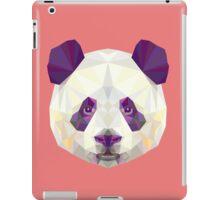 Geometric Panda iPad Case/Skin