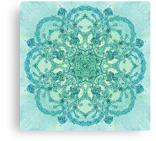 - Azure garden - Canvas Print