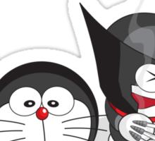 Doraemon Meets SuperHeroes Sticker