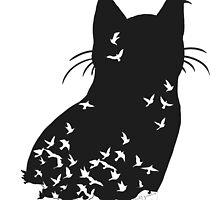 Raven Cat by Mystikitten