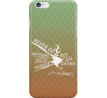 True Detective Out of Hunger white iPhone Case/Skin