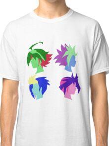 Arc V Ship Silhouette- Yuya/Yuto/Yugo/Yuri Classic T-Shirt