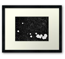 sroooms Framed Print