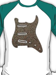 Rusty Guitar Pickguard T-Shirt