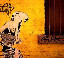 Woman on the wall by Mark Malinowski