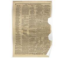 (PAGE 8) PORTLAND TRANSCRIPT, AUG.27, 1853 Poster