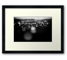 Dedicated to the tears of yesterday... Framed Print