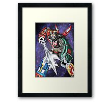 Voltron: Galactic Guardian Framed Print
