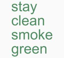 stay clean smoke green by adam sullivan