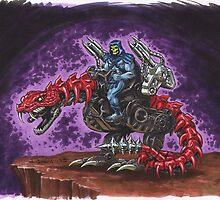 Skeletor: The Death-Rattler by Mecha-Zone