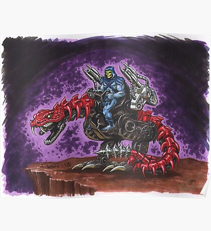 Skeletor: The Death-Rattler Poster