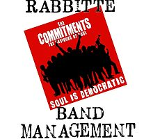 Rabbitte Band Management by stagedoormerch