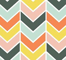 Cheerful Chevron by Shelby Allison