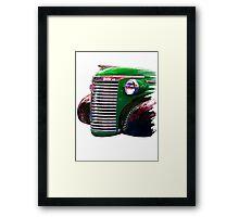 '39 Chevy Truck Framed Print