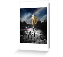 We are going to Russia! Greeting Card