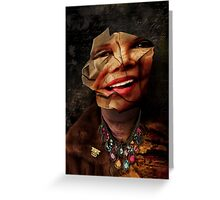 Diary of a Mad Diva Greeting Card