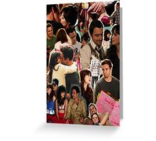 Nick Miller & Jess Day Collage Phone Case Greeting Card