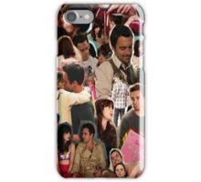 Nick Miller & Jess Day Collage Phone Case iPhone Case/Skin
