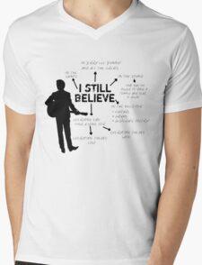 Frank Turner- I still believe Mens V-Neck T-Shirt