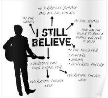 Frank Turner- I still believe Poster