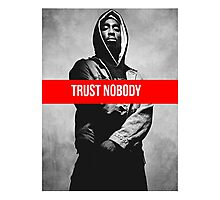 "2Pac ""Trust Nobody"" Supreme Photographic Print"